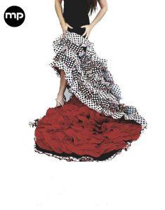 falda bata de cola