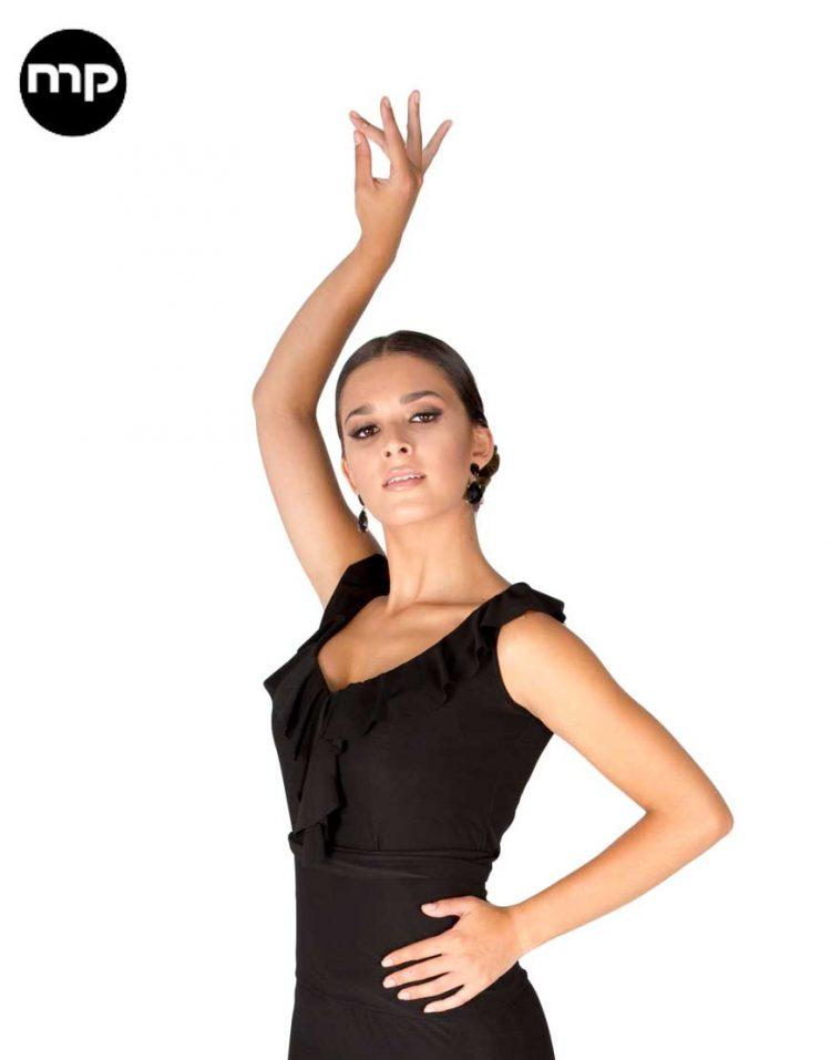 camisa flamenca negra