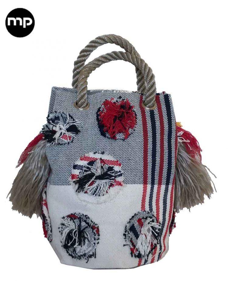 bolso flamenco hecho a mano