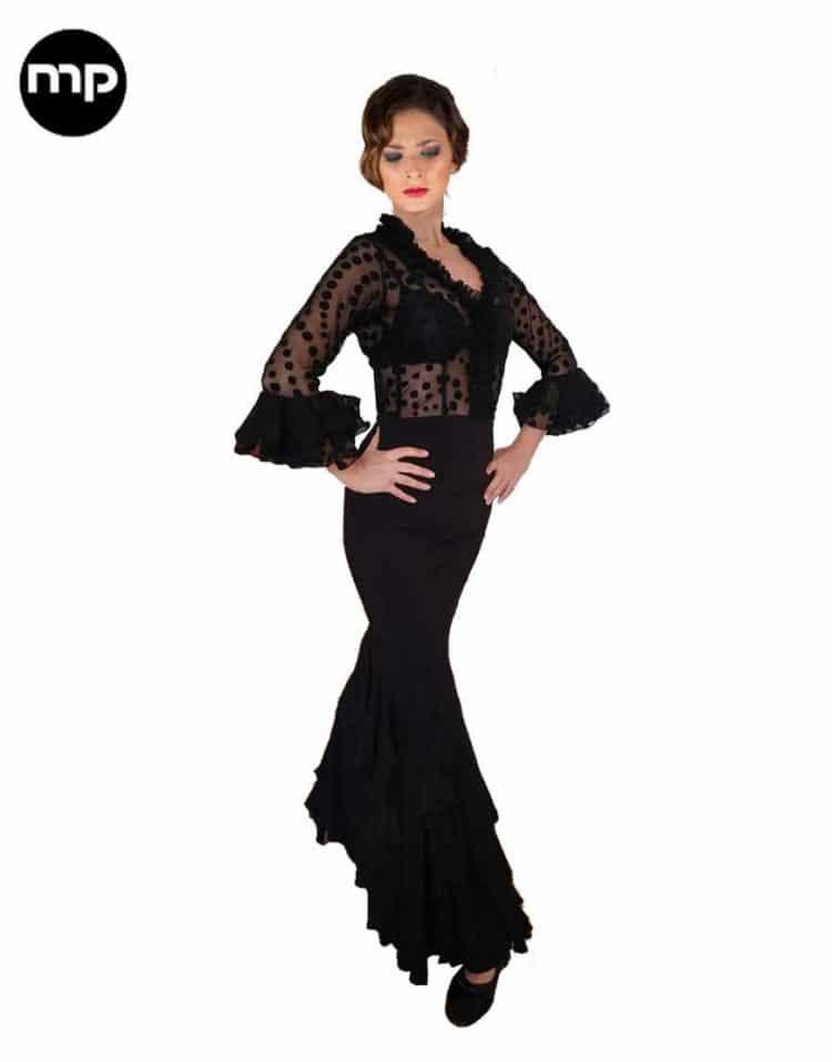 falda de flamenco y ensayo