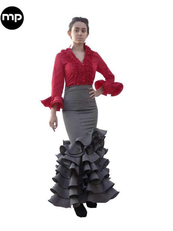 falda-rociera-gris