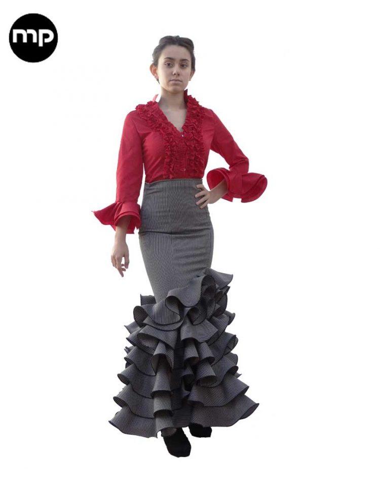 falda campera
