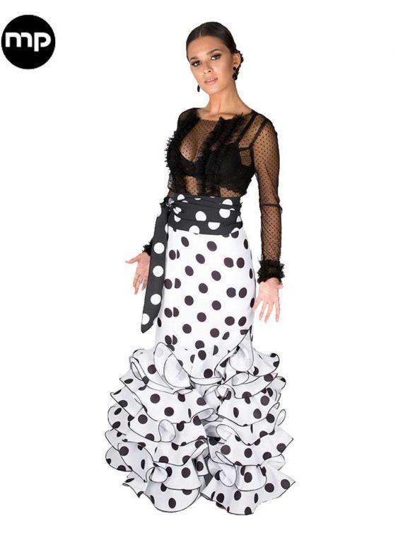 faldas-flamencas-lunares