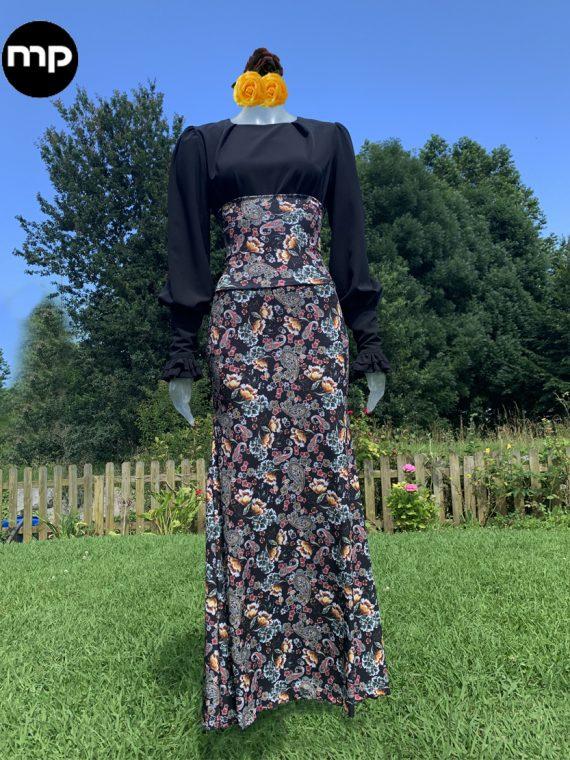 falda para bailar flamenco