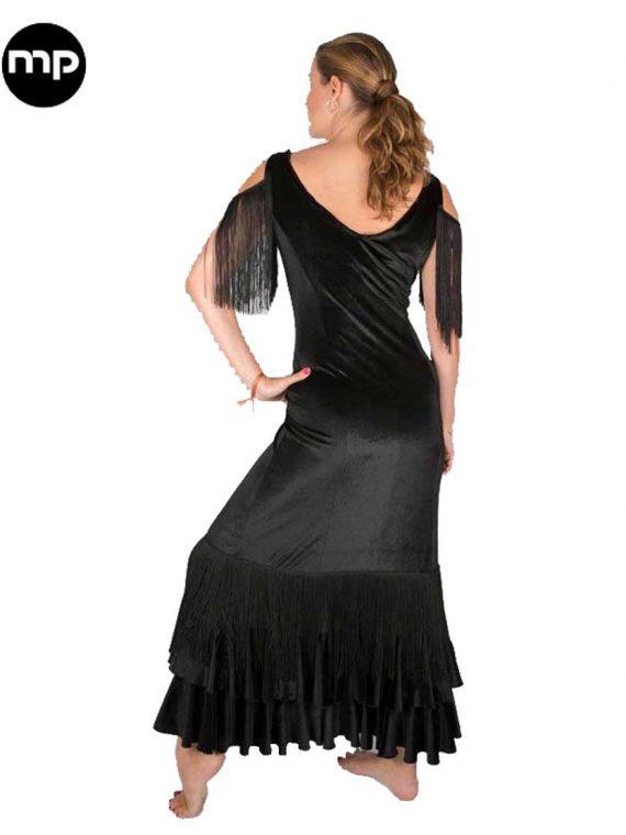 vestido flamenco terciopelo