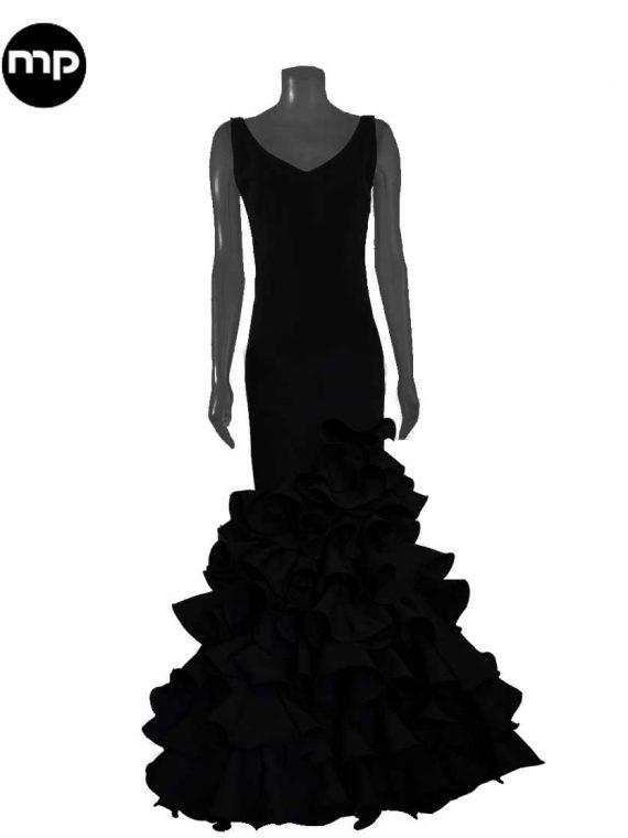 traje-de-flamenca-negro