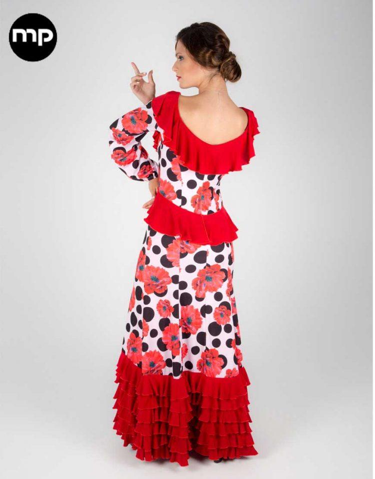 vestido baile flamenco