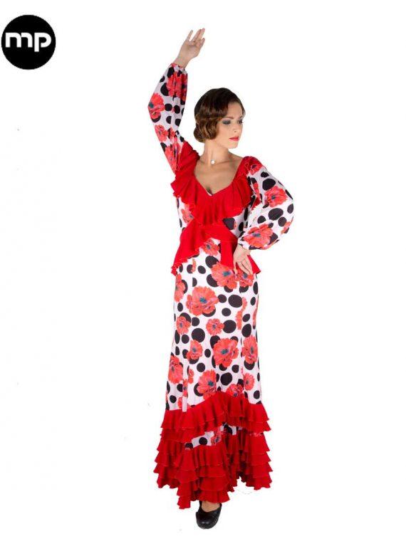 traje flamenca baile