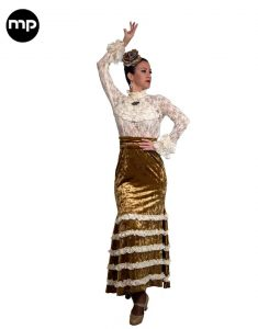 falda de baile flamenco 2020