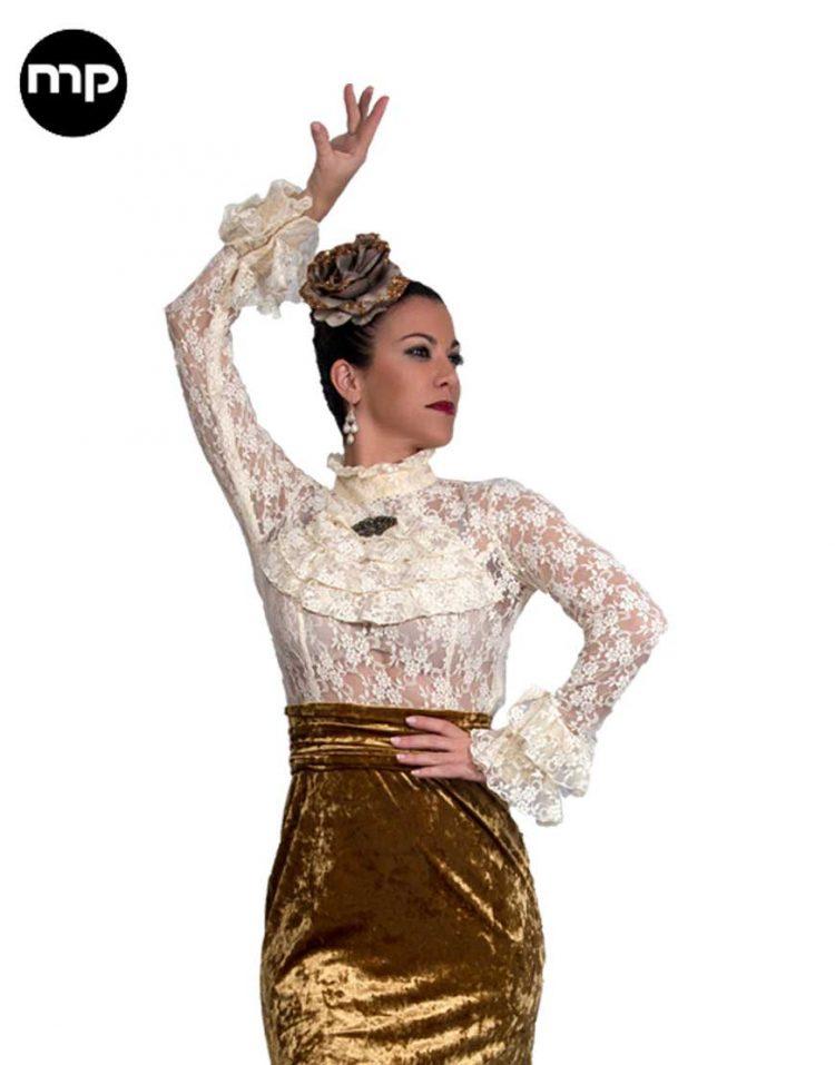 camisas flamencas de encaje