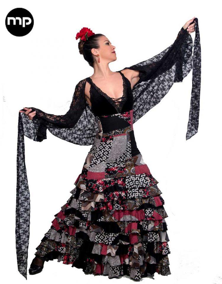 faldas flamenco
