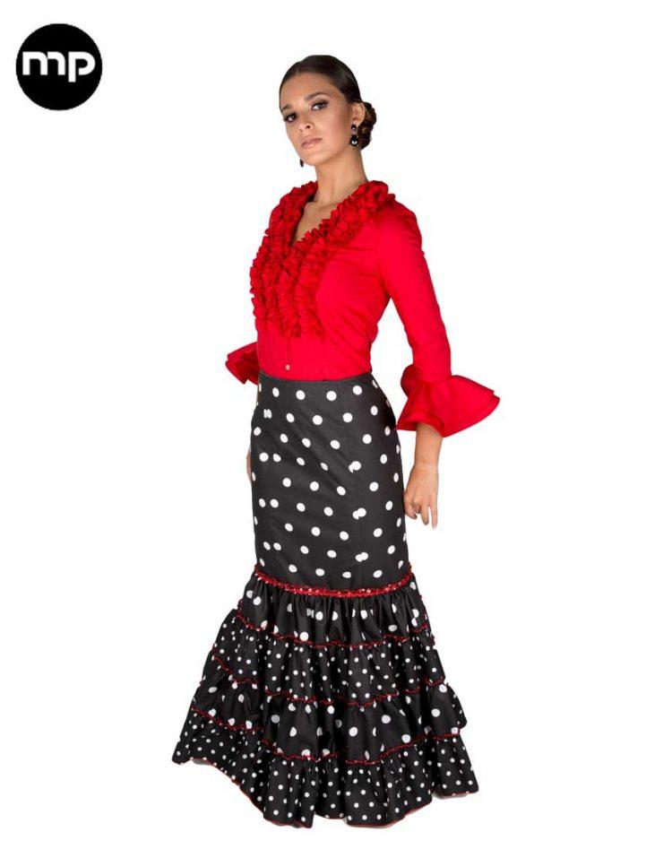 faldas canasteras flamencas
