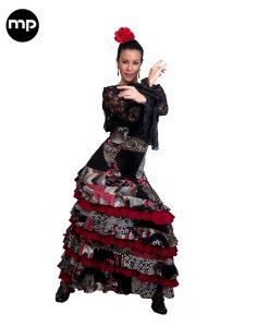 falda flamenca patchwork