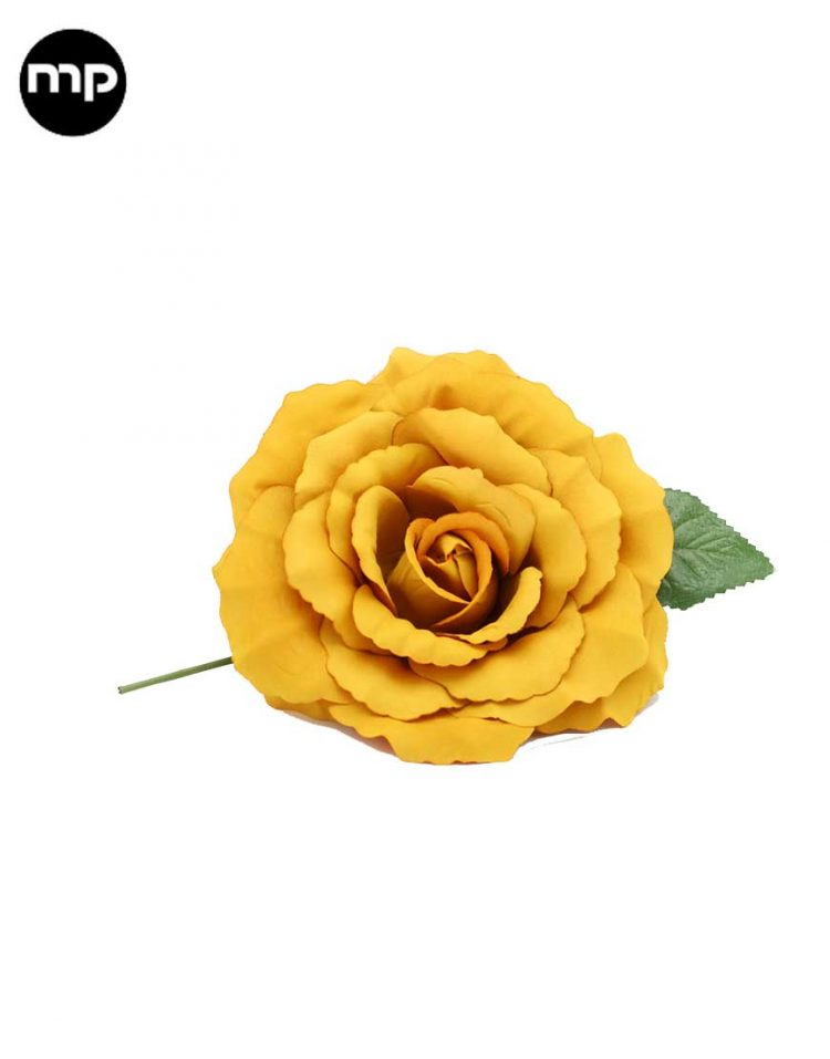 flor flamenca amarilla