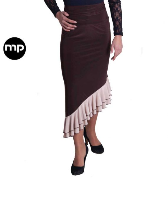 sobre falda de flamenco