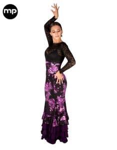 falda baile flamenca