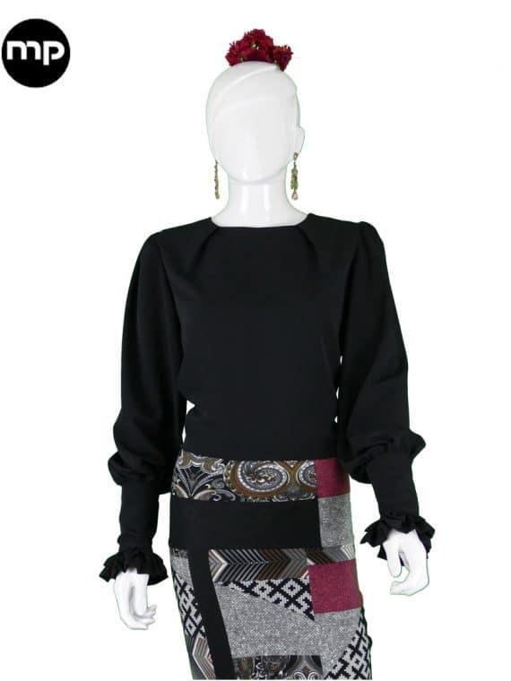 blusas-flamencas-negras