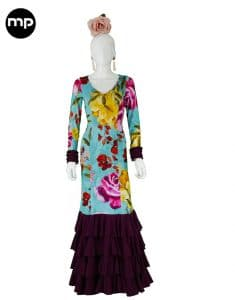 vestidos baile flamenco zambra